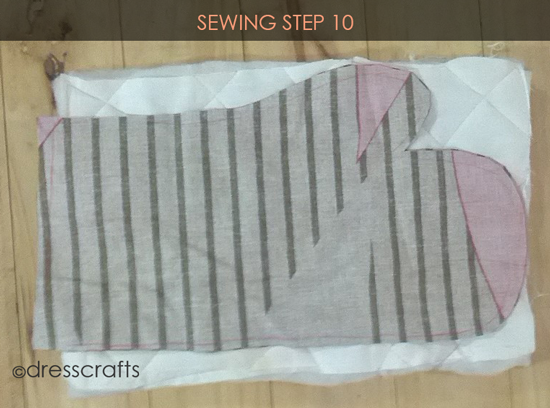 Easy Oven Mitts Sewing Step 10