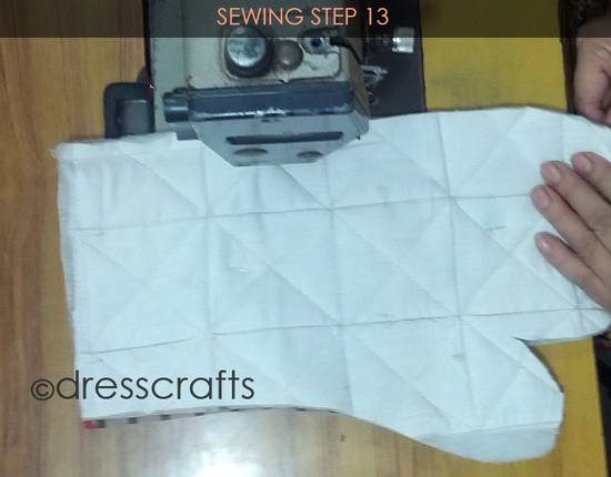 Easy Oven Mitts Sewing Step 13