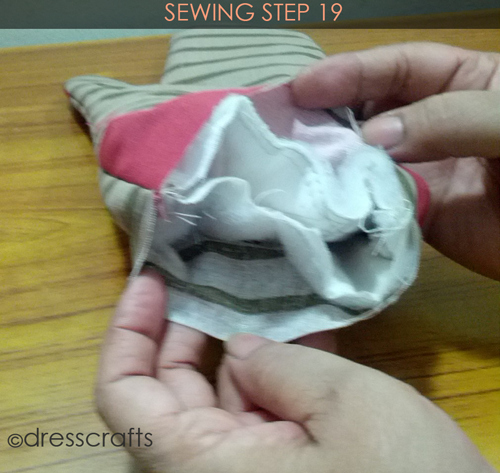Easy Oven Mitts Sewing Step 19