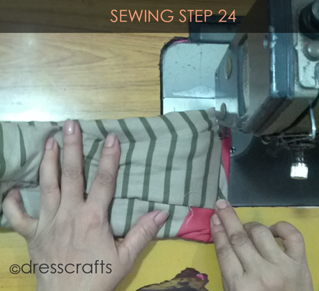 Easy Oven Mitts Sewing Step 24