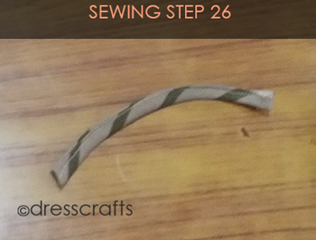 Easy Oven Mitts Sewing Step 26