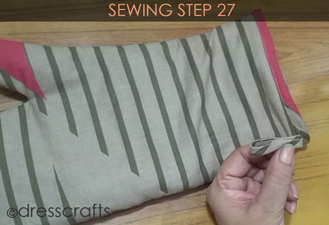 Easy Oven Mitts Sewing Step 27