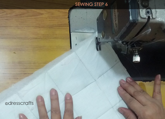 Easy Oven Mitts Sewing Step 6