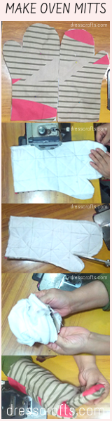 MAKE OVEN MITTS